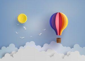 visualizzazione mongolfiera